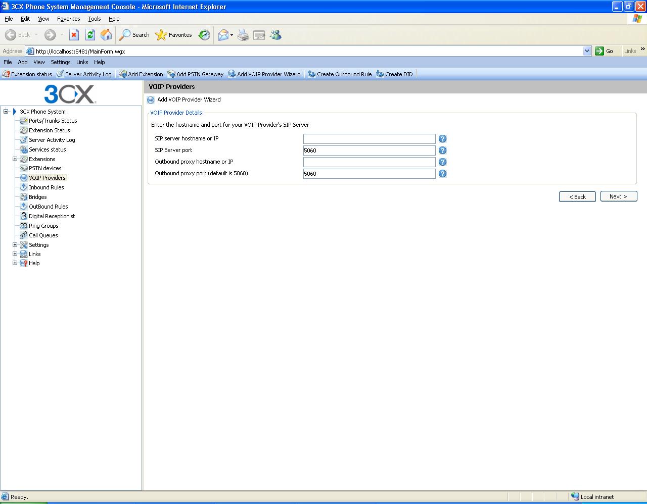 3CX v7 PBX Install - IPComms